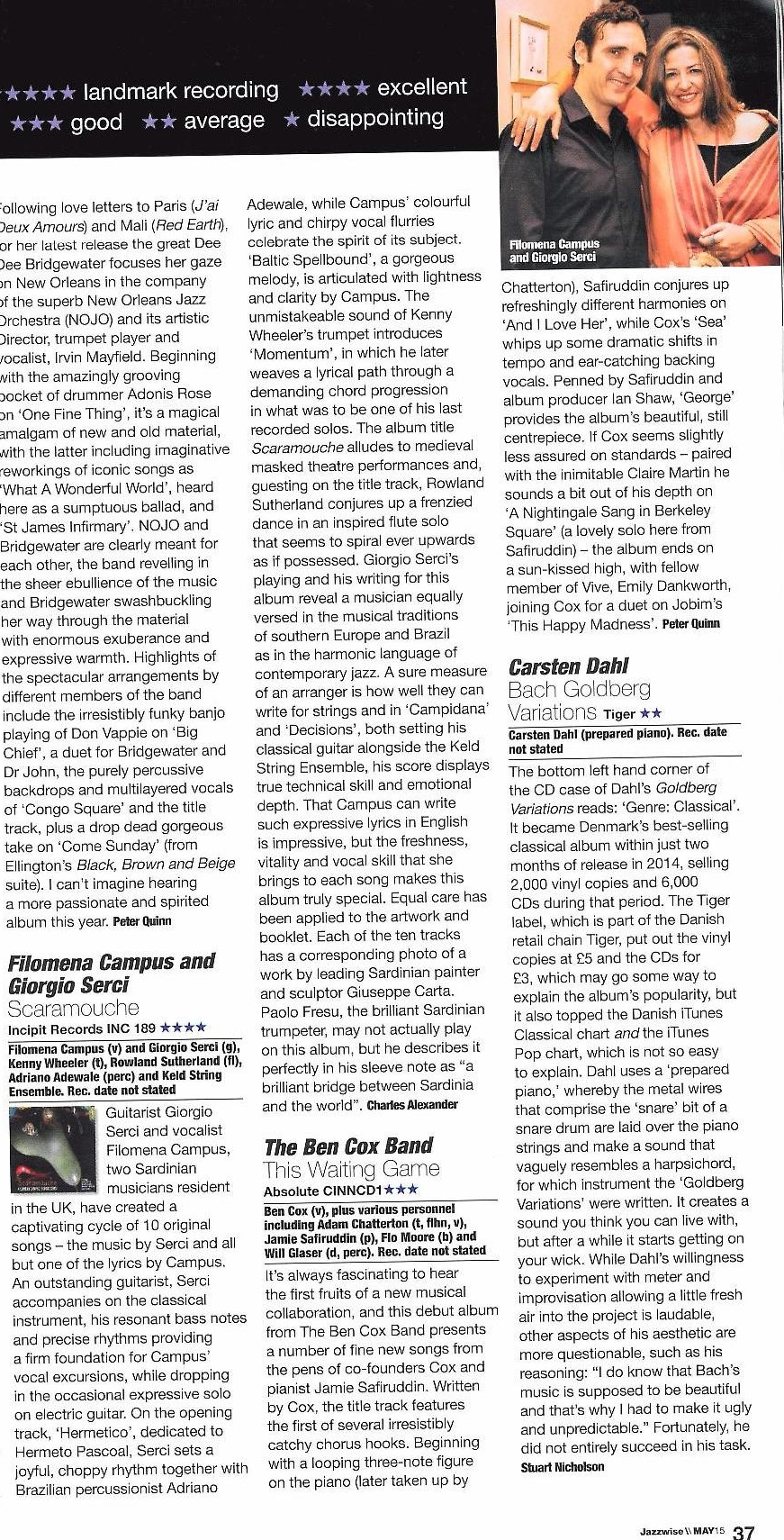 Jazzwise Review