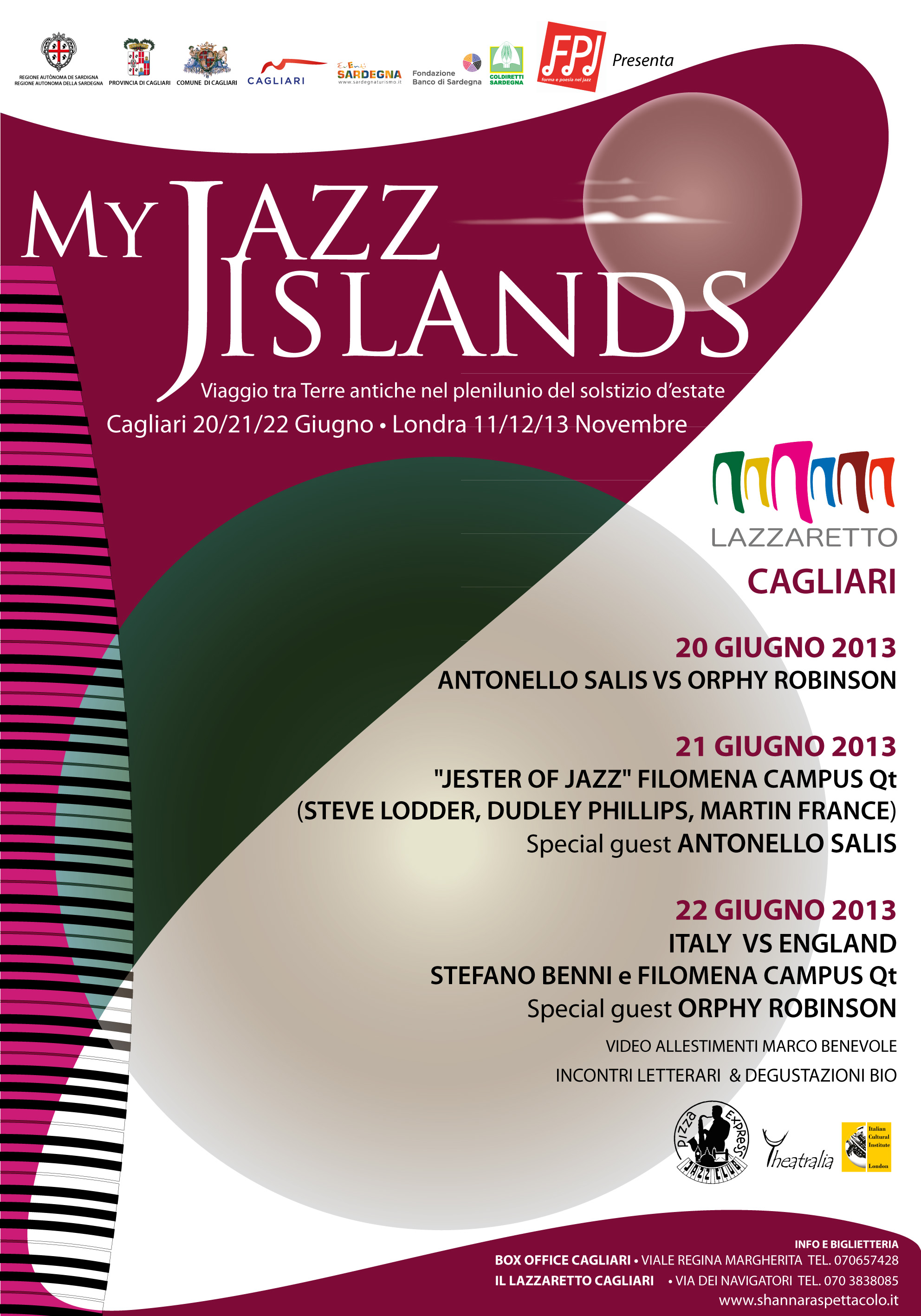POSTER My JAZZ ISLANDS 1